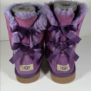 Ugg Bailey bow Purple